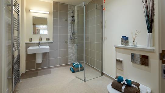 Newly Refurbished Bathroom At Housing 21