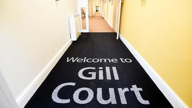 Gill Court Entrance