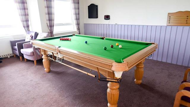 Gill Court Communal Snooker Table
