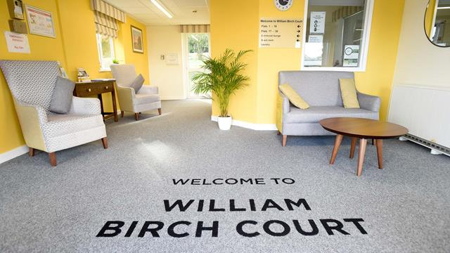 William Birch Court Entrance