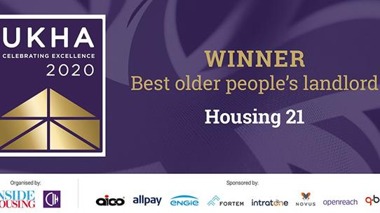 UK Housing Awards Winner