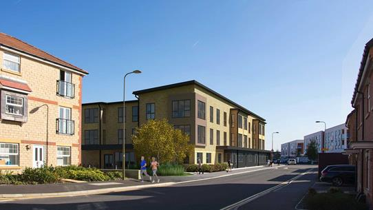 Didcot Housing 21 Extra Care Scheme Concept Art
